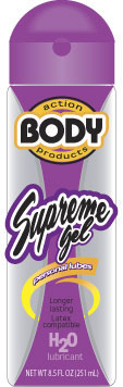 Body Action Supreme Gel Lube 2.3 oz