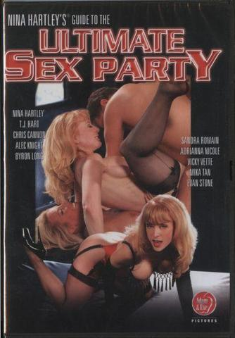 Nina HartleyS Ultimate Sex Party -Dvd