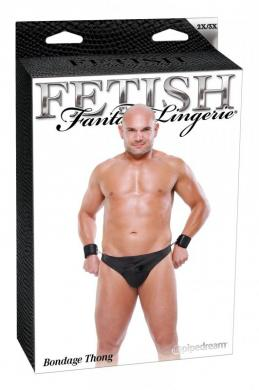 Fetish Fantasy Male Bondage Thong 2Xl/3Xl
