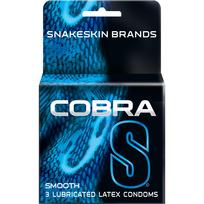 Cobra S Smooth Latex Condoms 3 Pack