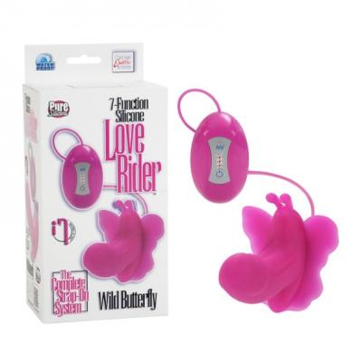 7-Function Silicone Wild Butterfly - Pink