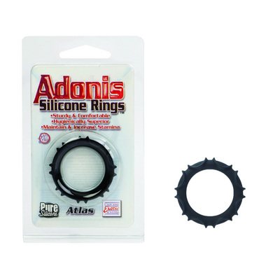 Atlas Silicone Ring- Black