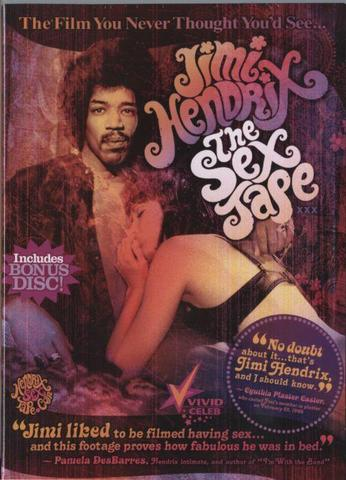 Jimi Hendrix The Sex Tape -Dvd